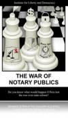 The War of the Notary Publics