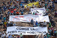 ILD in Nazca with miners: Conga mining project is a go, but with us